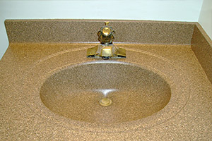 resurfaced sink