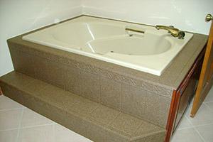 resurfaced bathtub